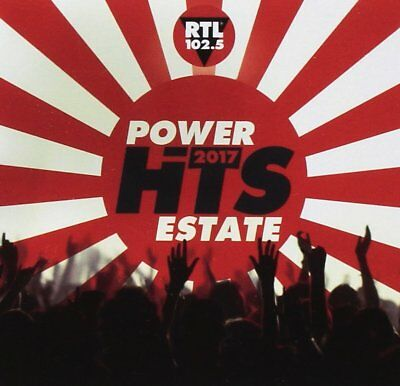 Rtl 102.5 Power Hits Estate 2017 ( 2 CD - Compilation )