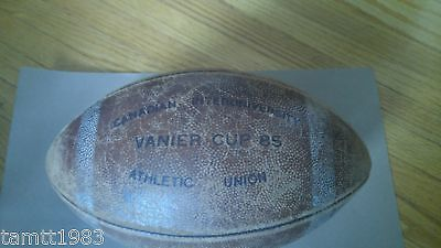 1985 Game Used Vanier Cup Football Very Rare