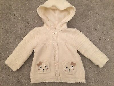 Girls Hoody/Cardigan 6-9 Months