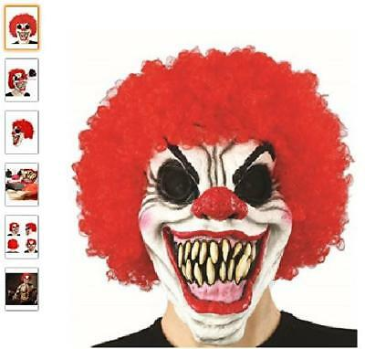Pennywise Mask Adult Scary Clown It Halloween Costume Fancy Mask 2017