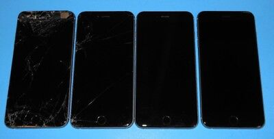 LOT of 4 Apple iPhone 6 PLUS's & 6S PLUS ~PARTS~Various Issues~ Can't Activate