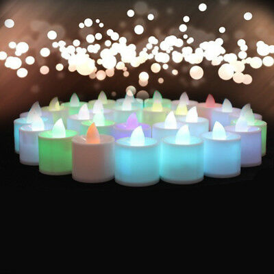 Mini Colorful Romantic Electronic Candle LED Light For Party Decorate CF