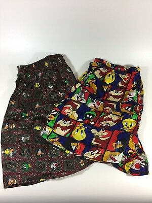 New Looney Tunes Marvin The Martian Silk Boxers Lot (2 Pairs)