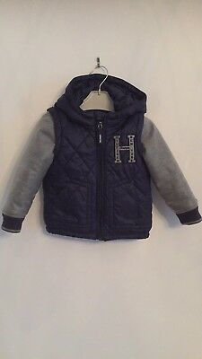 Tommy Hilfiger Boys Padded Coat / Body Warmer With Hood