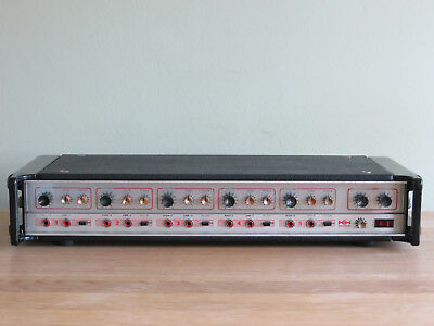 Vintage 1980 HH Electronic MA100 Mk 2 Mixer Amplifier 100w serviced & tested