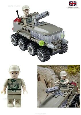 Remote Control RC Battle Tank Army Working Sound & Lights Toy Soldier Corps Gift