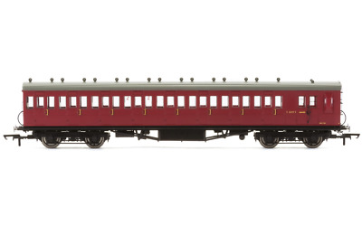 Hornby r4746a BR ex LSWR nicht Korridor Bremse 3. Diag 99 Coach s2640s