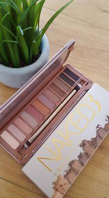 Brand New Naked 3 Eyeshadow Palette Eye Shadows Makeup Professionals