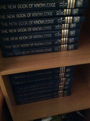 new book of knowledge encyclopedias 20 volumes