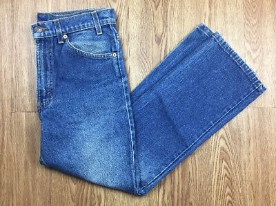 Vintage Levis 517 Orange Tab Blue Jeans Mens 32 X 30 Made in the USA