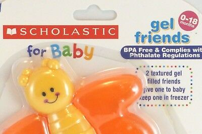 Baby Teething Toy BPA Free Teether Safe and Freezable