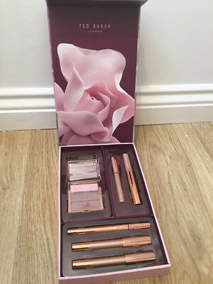 TED BAKER EYES SPARKLE & SHADE Make Up eyeshadow mascara eye pencil GIFT SET