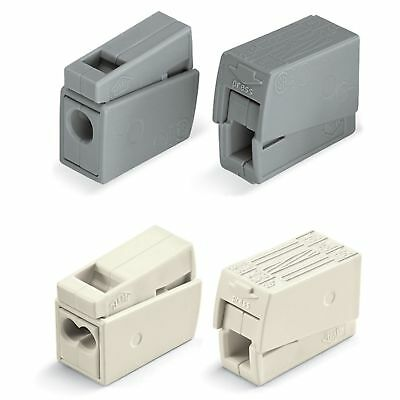 Wago 224 Series Lighting Connector 224-101, 224-112, 224-201