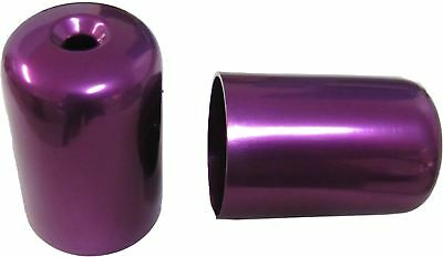 Bar End Weight Covers Purple GSXR1100, K-N