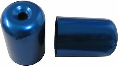 Bar End Weight Covers Blue GS500E,GSX750F,RF900R,GSXR1100