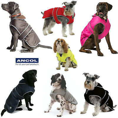 Ancol Stormguard Harness Compatible Waterproof Luxury All Weather Dog Rain Coat