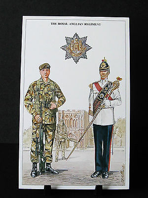 Geoff White – The British Army Series – No 31  – The Royal Anglian Regiment
