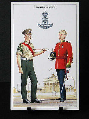 Geoff White – The British Army Series – No 35  – The Green Howards