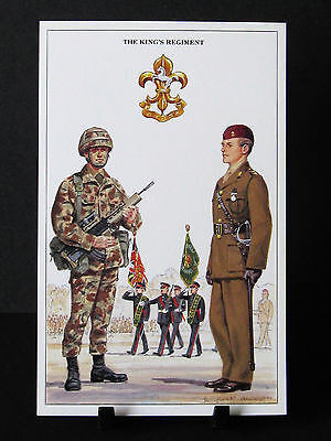Geoff White – The British Army Series – No 30  – The Kings Regiment