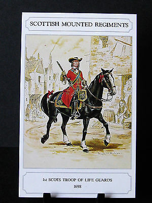 Geoff White –Scottish Mounted Regiments – 1st Scots Troop of Life Guards 1698