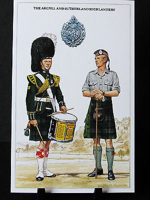 Geoff White – The British Army Series – No 52  – The Argyll and Sutherland Highl