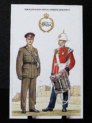 Geoff White – British Army Series – No 28 – The King's Own Royal Border Regiment
