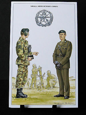 Geoff White – The British Army Series – No 72   – Small Arms School Corps