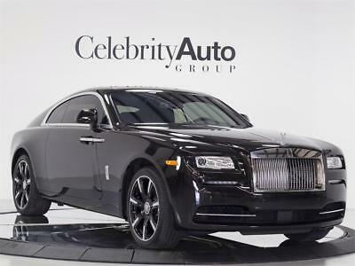 "2016 Rolls-Royce Other Wraith ""Inspired by Music Edition"" $388K MSRP 2016 ROLLS ROYCE WRAITH ""INSPIRED BY MUSIC"" 1 OF 27 PRODUCED $387K MSRP"