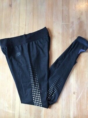 NIKE Leggings Size M Women's Running Ankle Cutout
