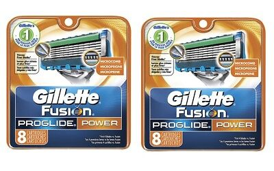 16 Gillette ProGlide Power Razor Cartridges Refill Blades,German Made Quality