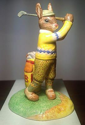 Royal Doulton On The Fairway Golfer Bunnykins Model DB427 PERFECT