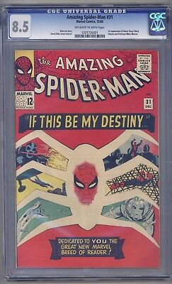 Amazing Spider-Man #31 CGC 8.5 1st Appearance Gwen Stacy, Harry Osborn!