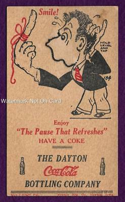 Novelty Postcard Coca Cola Bottling Co Dayton Ohio Chain Moves On Face Coke