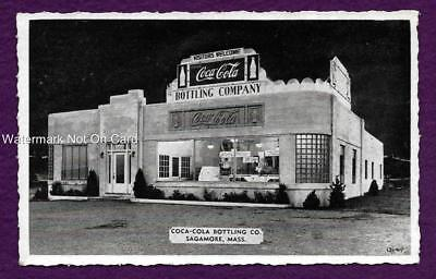 Postcard Coca Cola Bottling Co Sagamore Ma Coke
