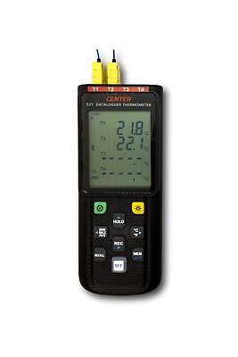 Wireless Thermometer Datalogger (K,J,E,T,N,S,R-Type, 4 Inputs) - IC-CENTER521