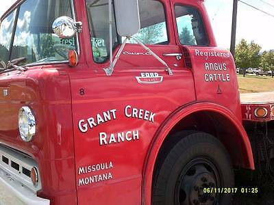 1964 Ford Other Pickups  1964 Ford coe c600 ONE RANCH OWNER 58000 Miles  NO RESERVE!!!! antique vintage