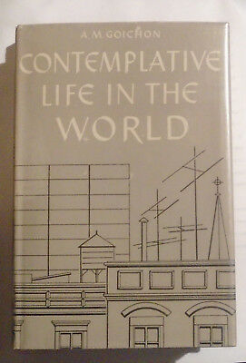 ††Catholic CONTEMPLATIVE LIFE IN THE WORLD by A.M Goichon ~Prayer Religious 1958