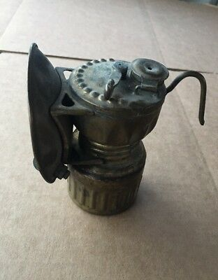 Antique X-Ray Carbide Miner's Lamp Head Lantern