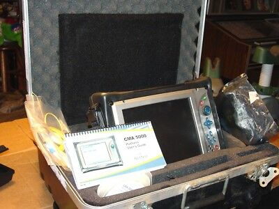 GN NetTest CMA5000 5225-111-OTDR-1 Fiber Optic Tester WITH VFL / COLOR