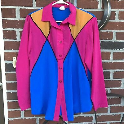 The Goldbergs 1980 Outfit Shoulder Pad Running Jacket & Skirt L Costume