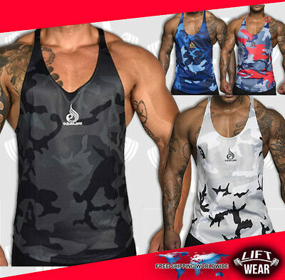 Ryder gym wear tank men singlet muscle top shirt bodybuilding tops Ryderwear fit