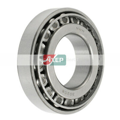 One Pieces 30208 Single Row 40 mm x 80 mm x 19.75 mm Tapered Roller Bearing 413g