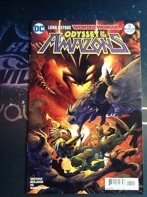 Odyssey Of The Amazons #5 (Of 6) (CBX019)