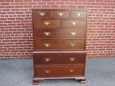 Craftique Mahogany Chest On Chest