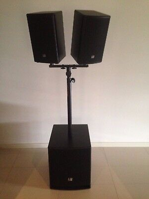 Dave12-G3 Active 1080W 12-Inch PA Speaker and Subwoofer System