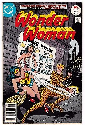 WONDER WOMAN #230 (FN+) CHEETAH Cover Story Appearance! 1977 DC Diana Prince!