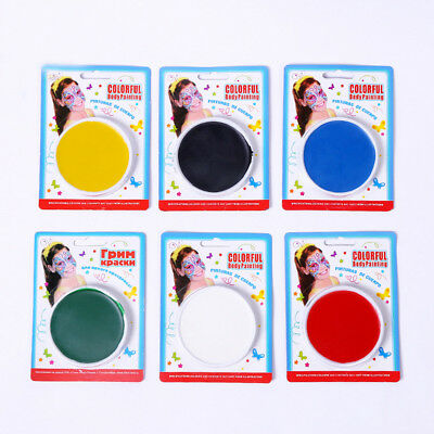 Make Up Face Paint Color Palette Fun Halloween Cosmetics Fancy Painting Kit New