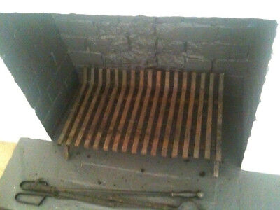 fire grate indoor fireplace