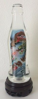 Coca Cola Coke Inner Painted Bottle For Collection and Home Decor
