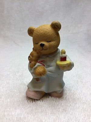 Bronson Collectible Mama Bear Going To Bed In Night Gown/Baby Cub🐻Baby Nursery